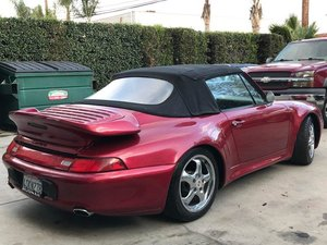 LHD PORSCHE 911 with 993 look 1971, LEFT HAND DRIVE