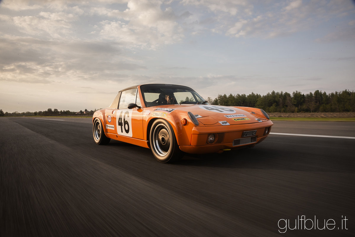 1970 Porsche 914/6 GT Group 4, race car For Sale (picture 1 of 6)