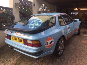 Porsche 944 turbo road legal track car.