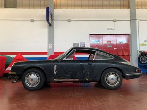 1965 Porsche 912 restoration project