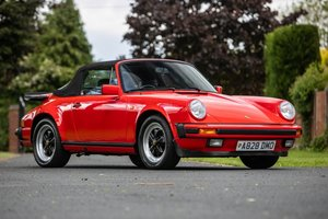 1983 911 Cabriolet Stunning low mileage 231 BHP Classic