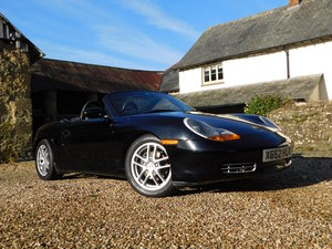 2001 Porsche Boxster 2.7 -  49k miles, 4 owners, excellent For Sale