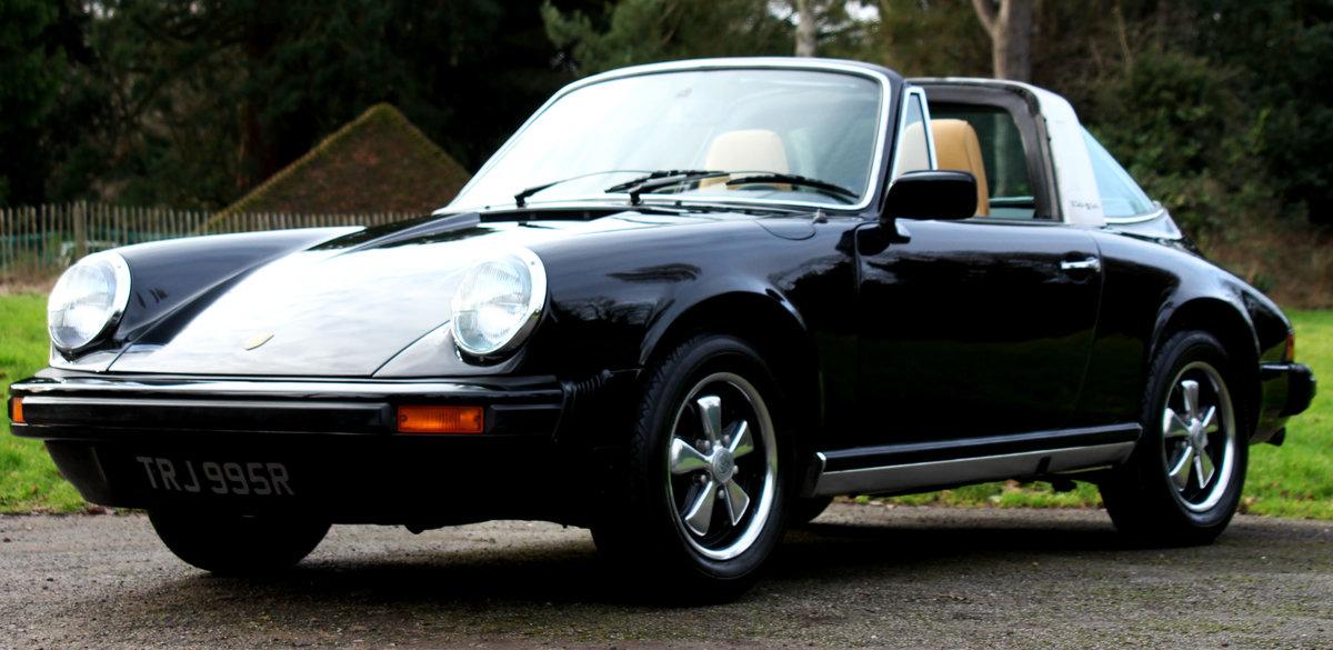 1977 Porsche 911 Targa Small Body G model For Sale (picture 1 of 6)