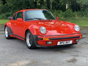 1984 PORSCHE 911 3.2 WIDE BODY COUPE RED