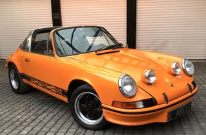 PORSCHE 911T 2.4 Targa LHD UK supplied Oil Klappe model