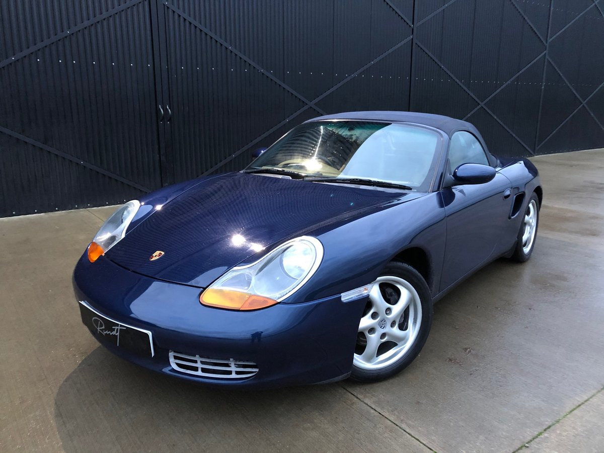 2000 Porsche Boxster 986 2.7 Only 69000 miles ..Restored Superb ! For Sale (picture 1 of 16)