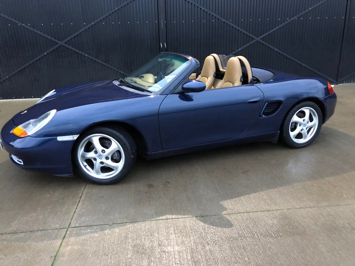 2000 Porsche Boxster 986 2.7 Only 69000 miles ..Restored Superb ! For Sale (picture 3 of 16)