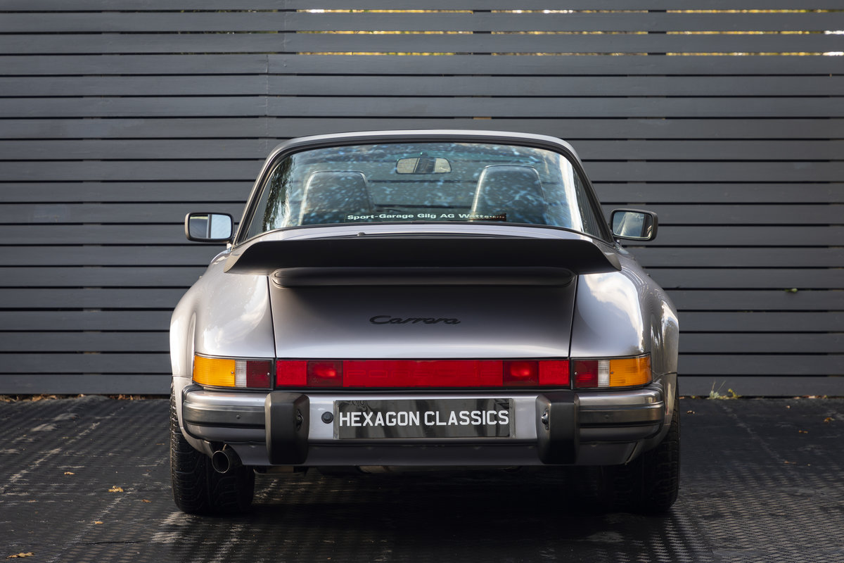 1988 PORSCHE 911 3.2 TARGA JUBILEE EDITION LHD SOLD (picture 6 of 17)