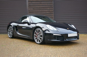2012 Porsche 981 Boxster S 3.4 Convertible Manual (26,000 miles) SOLD