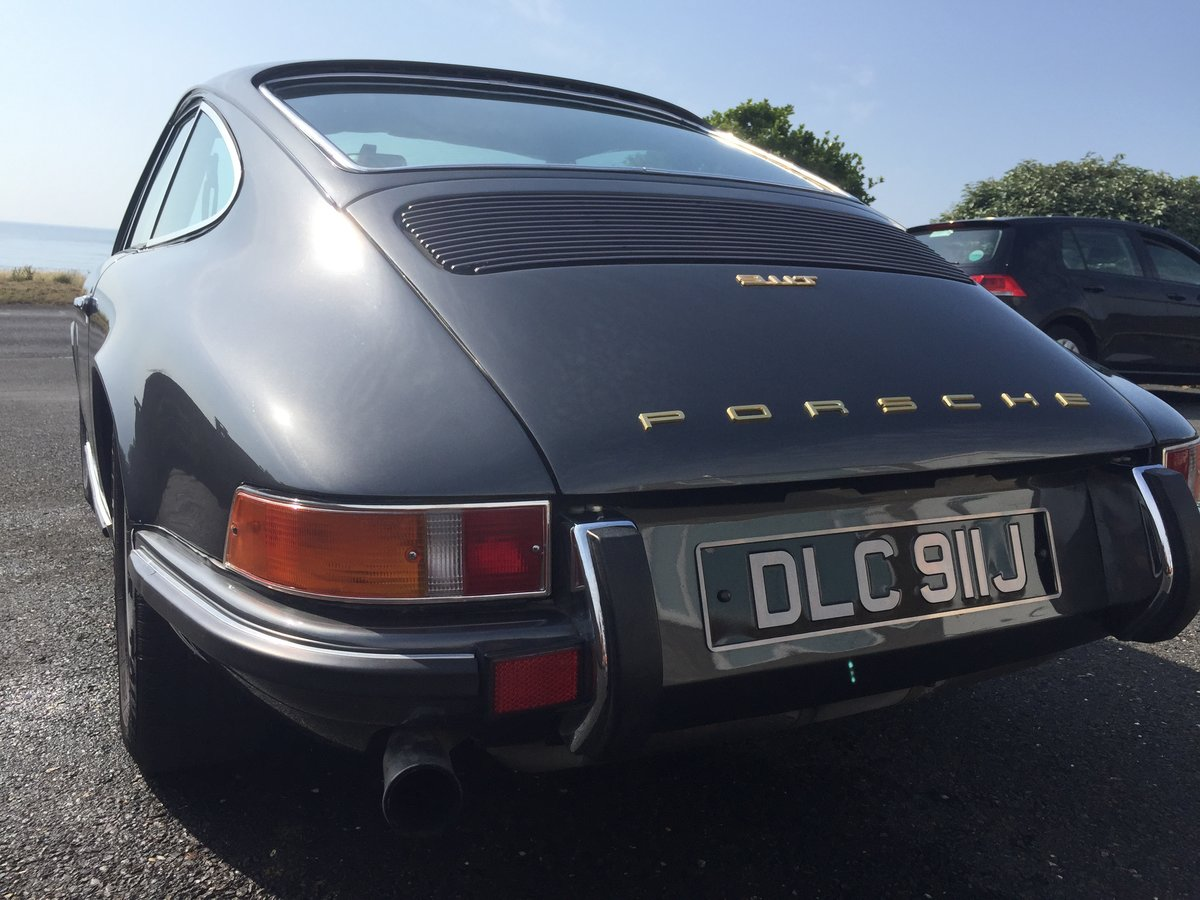 1971 Porsche 911T Coupe Original UK RHD **recent restoration** SOLD (picture 4 of 6)