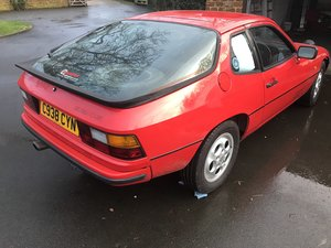 1986 924S  Road Rally Car For Sale