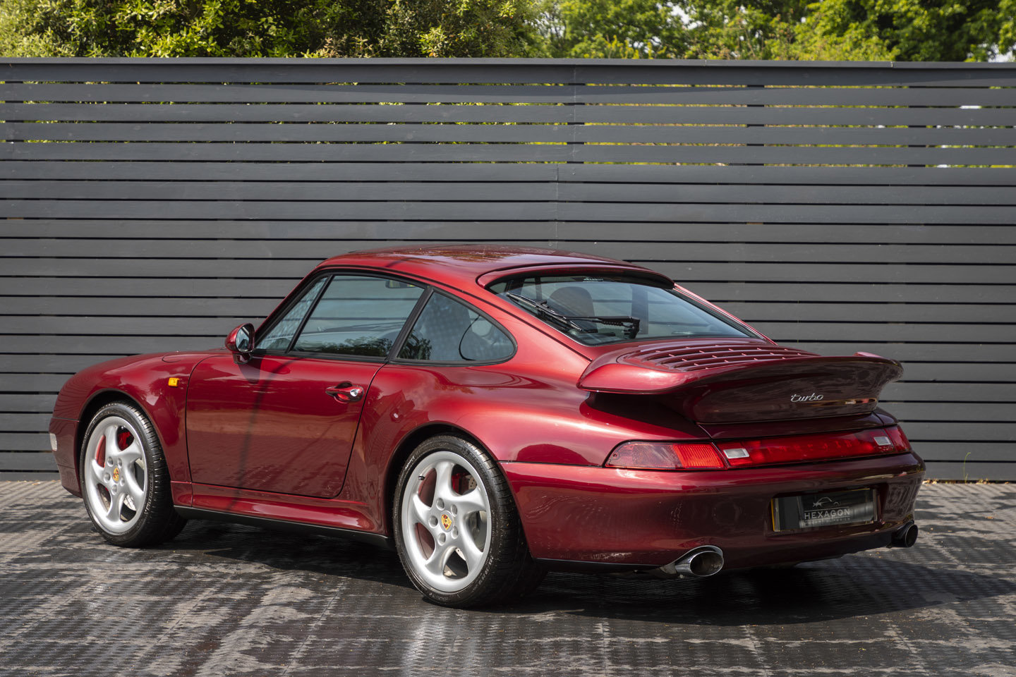 1995 PORSCHE 911 (993) TURBO ONLY UK CAR For Sale (picture 2 of 19)