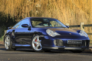2000 Porsche 911 Turbo Manual Coupe Lapis Blue X73 GT2 Suspension