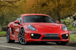 2013 Porsche Cayman S 981 PDK Guards Red £15k options