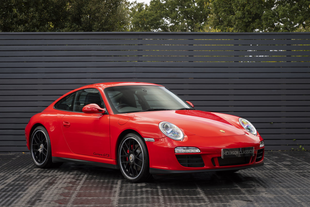 PORSCHE 911 (997) CARRERA GTS PDK COUPE, 2011  SOLD (picture 1 of 23)