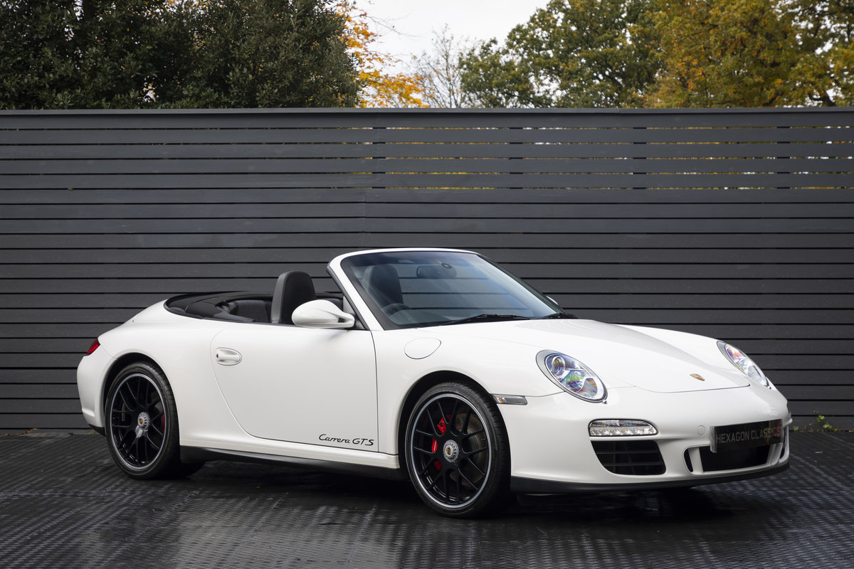 2011 PORSCHE 997 GTS 3.8 CABRIOLET MANUAL For Sale (picture 1 of 22)