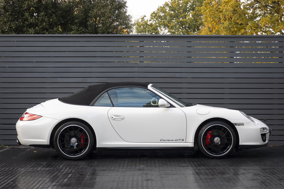 2011 PORSCHE 997 GTS 3.8 CABRIOLET MANUAL For Sale (picture 4 of 22)