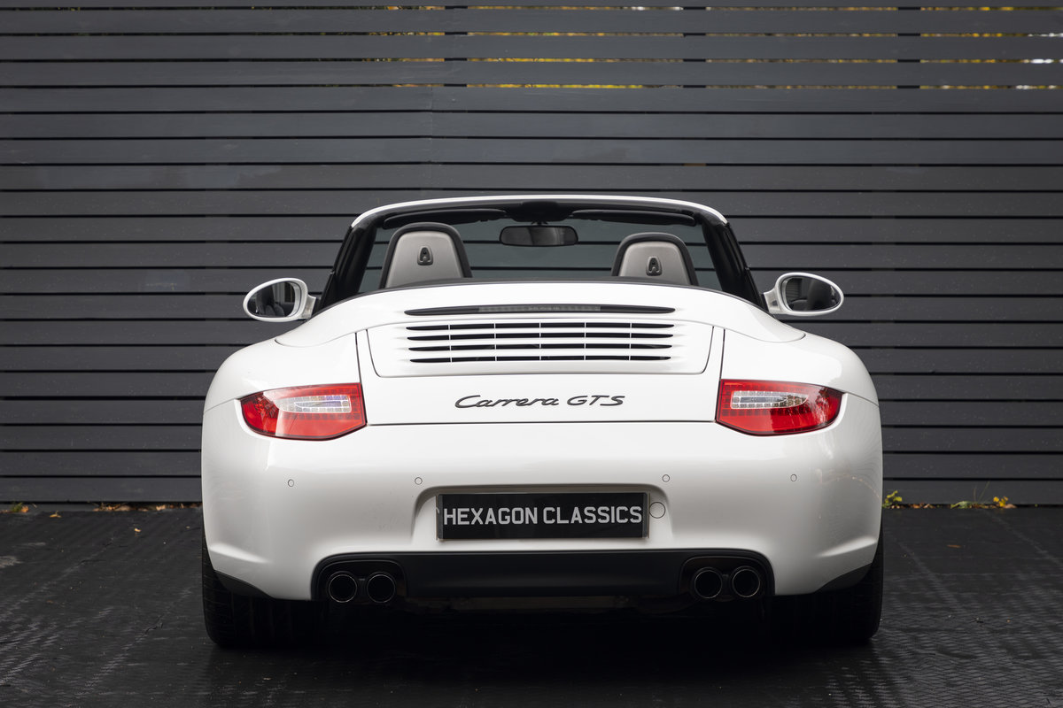 2011 PORSCHE 997 GTS 3.8 CABRIOLET MANUAL For Sale (picture 6 of 22)