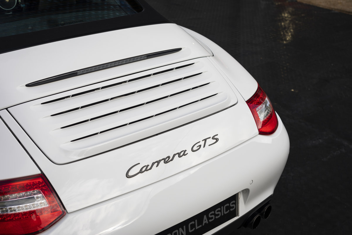 2011 PORSCHE 997 GTS 3.8 CABRIOLET MANUAL For Sale (picture 17 of 22)