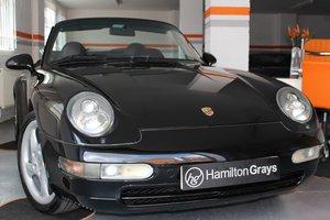 1996 (N) Porsche 993 C2, 3.6 Varioram, Manual, Cabriolet, Lo For Sale