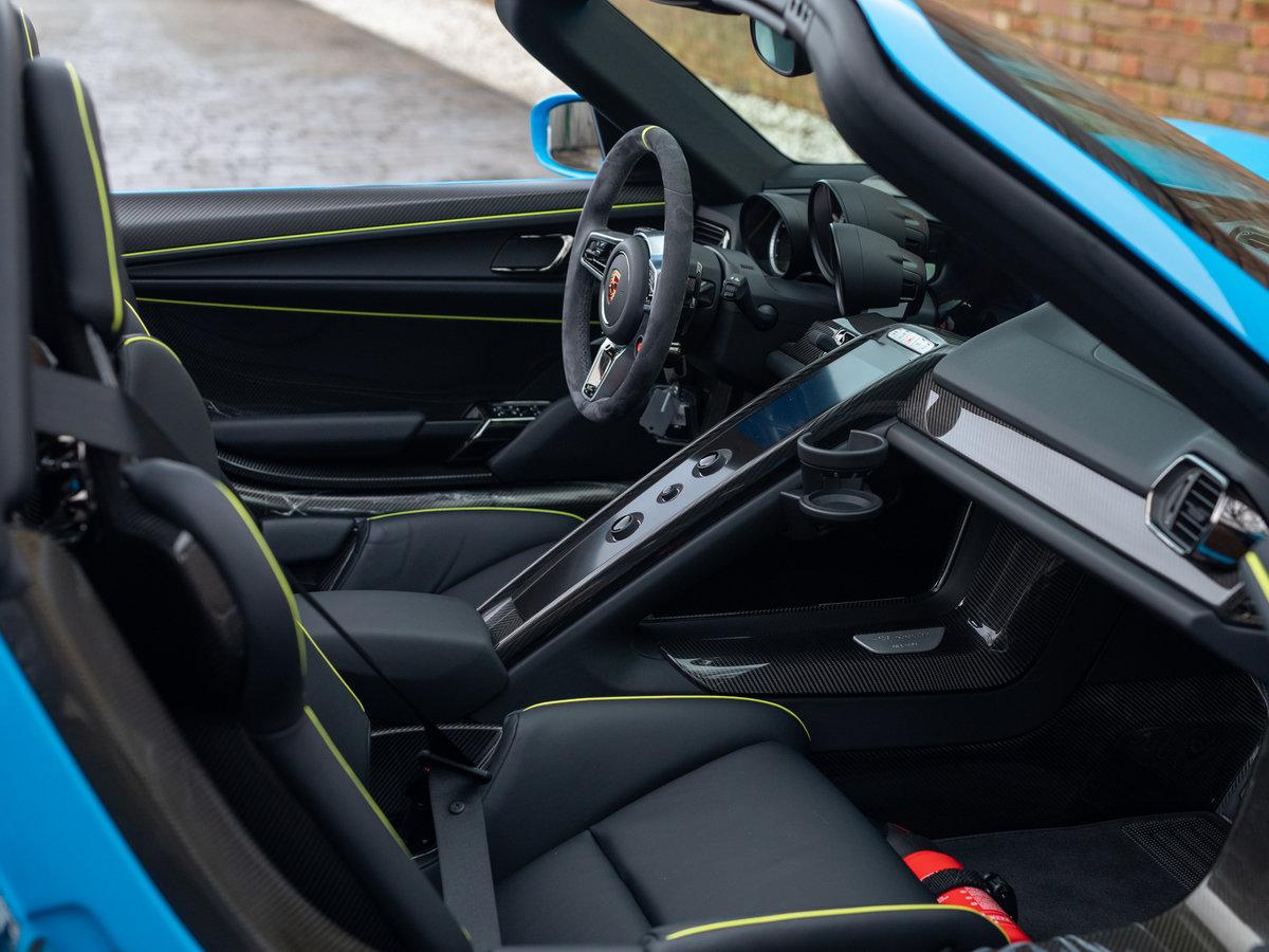 2015 Porsche 918 Spyder - Riviera Blue PTS For Sale (picture 6 of 6)