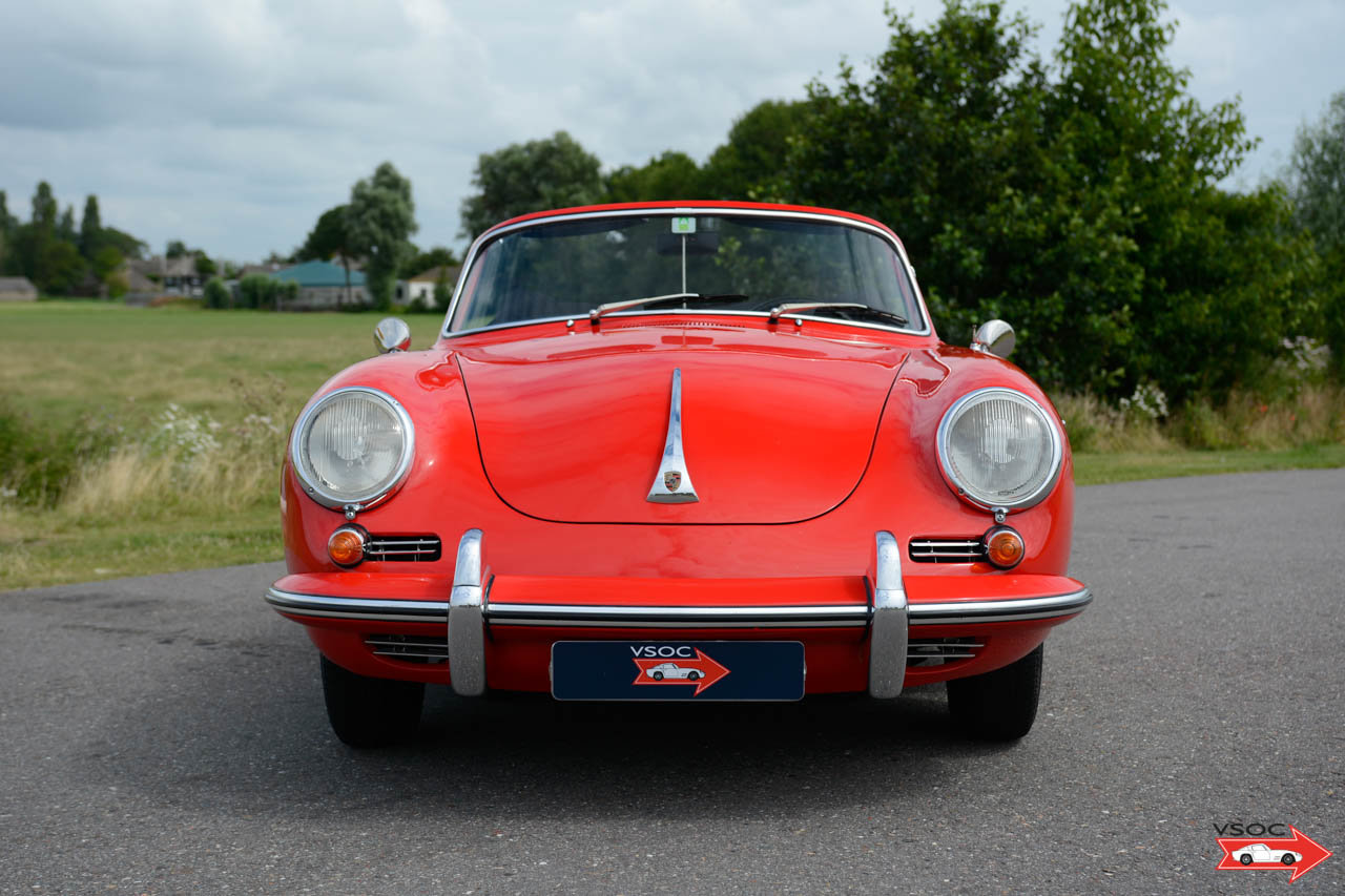 Porsche 356 B T6 1600 S Cabriolet 1962, drives very well For Sale (picture 2 of 6)
