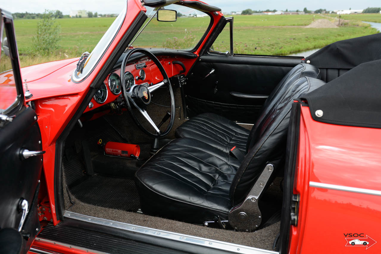 Porsche 356 B T6 1600 S Cabriolet 1962, drives very well For Sale (picture 4 of 6)