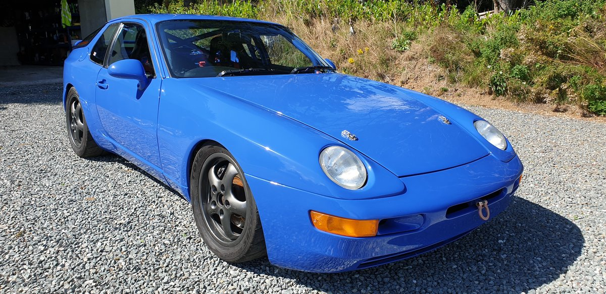1993 968 Race car AKA The Purple People Eater SOLD (picture 2 of 6)