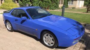 1992 Porsche 944 Maritime blue