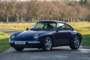 1996 Porsche 911 (993) Carrera 2 Varioram SOLD