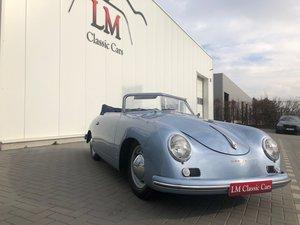 1955 Porsche 356 Pre A knickscheibe