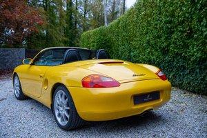 2002 Stunning Porsche Boxster Gen1 2.7 Speed Yellow