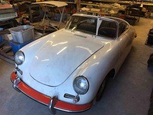 1962 Porsche Cabriolet Convertible Project U finish Grey   For Sale