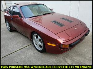 1985 Porsche 944 Custom Fast 300-HP Corvette LT1 V-8 $12.9k For Sale