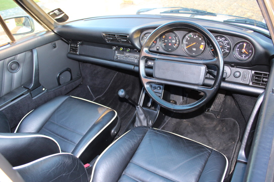 1987 PORSCHE 911 SUPERSPORT CAB – 60,000 MILES – £75,950 For Sale (picture 3 of 23)