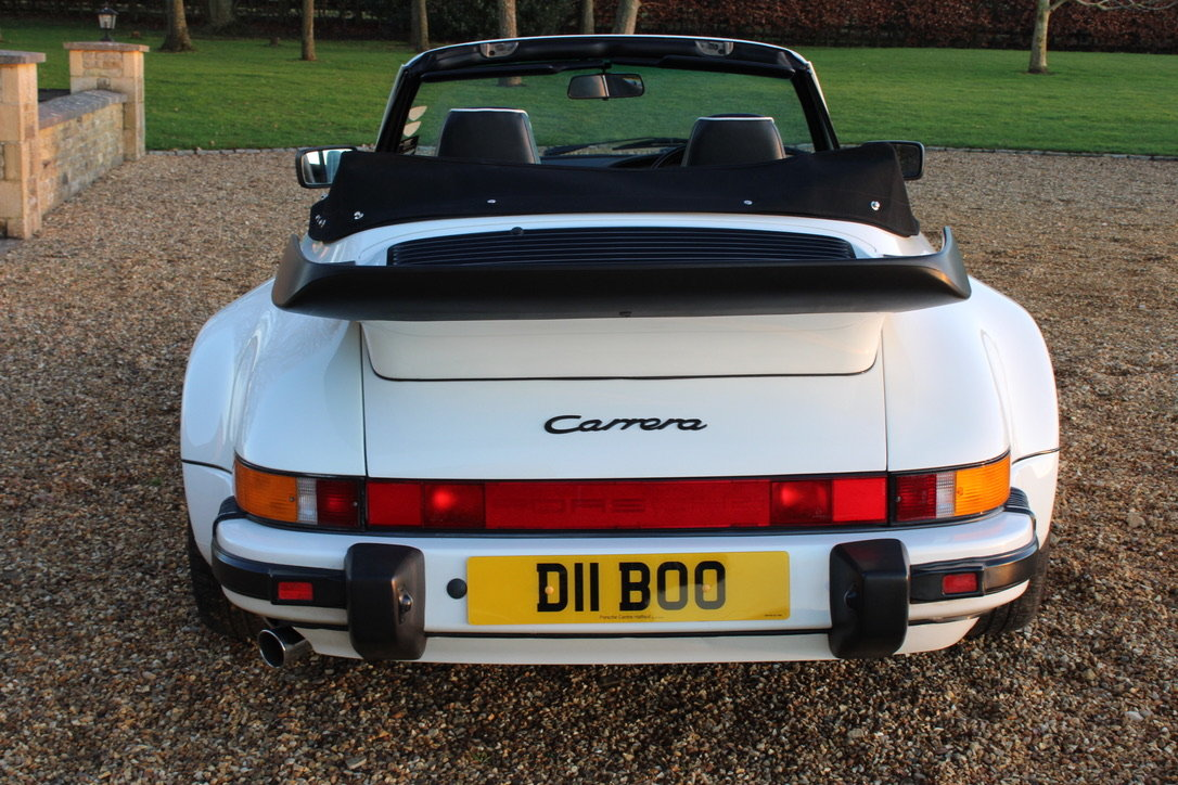 1987 PORSCHE 911 SUPERSPORT CAB – 60,000 MILES – £75,950 For Sale (picture 4 of 23)