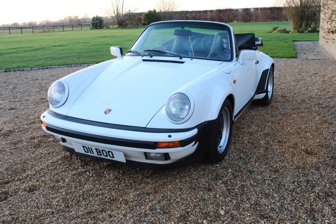 1987 PORSCHE 911 SUPERSPORT CAB – 60,000 MILES – £75,950 For Sale (picture 6 of 23)