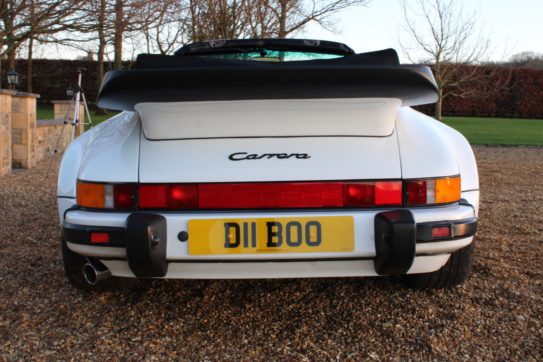 1987 PORSCHE 911 SUPERSPORT CAB – 60,000 MILES – £75,950 For Sale (picture 10 of 23)