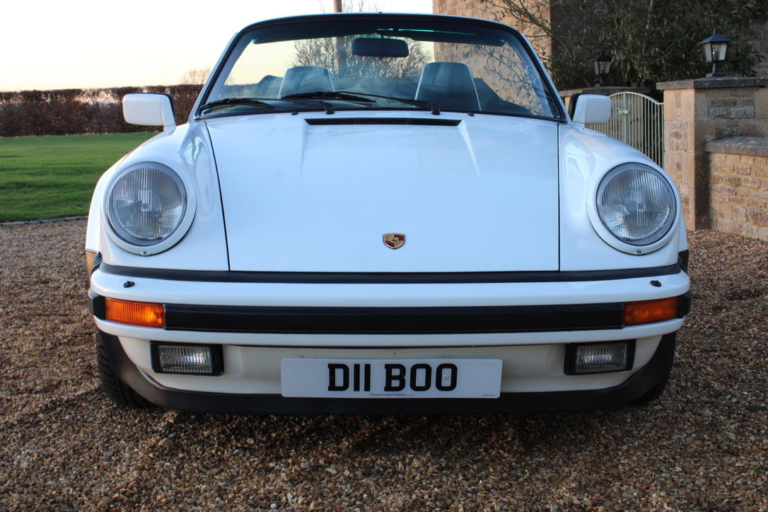 1987 PORSCHE 911 SUPERSPORT CAB – 60,000 MILES – £75,950 For Sale (picture 19 of 23)