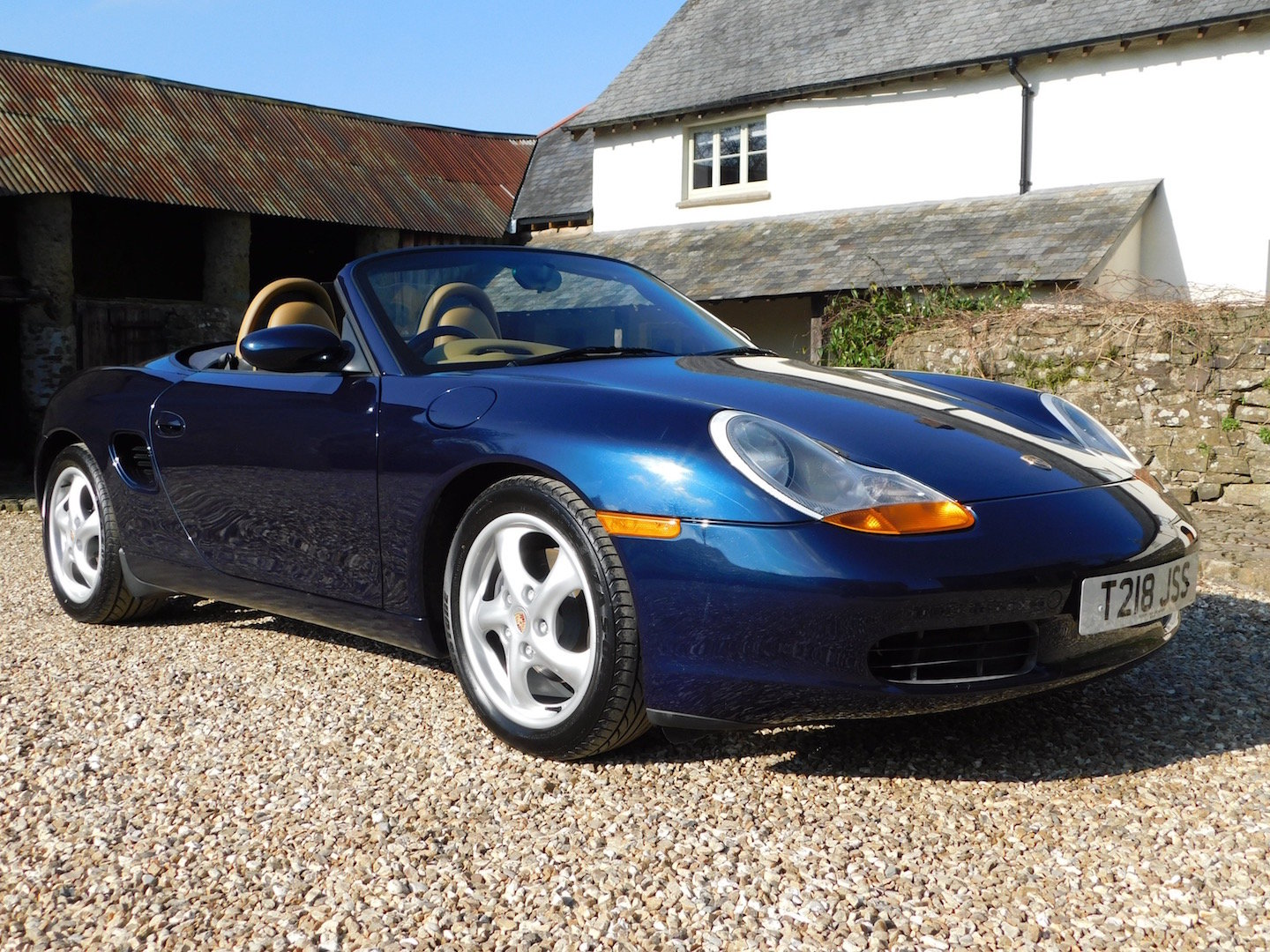 1999 Porsche Boxster 2.5 manual - 16k miles, 2 owners, incredible For Sale (picture 1 of 6)