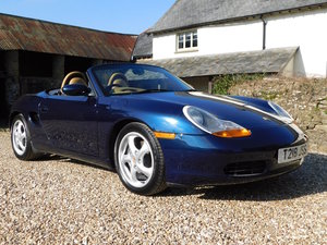 1999 Porsche Boxster 2.5 manual - 16k miles, 2 owners, incredible