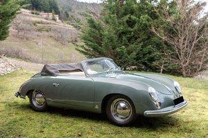 1954 Porsche 356 1500 Super Pré A Cabriolet