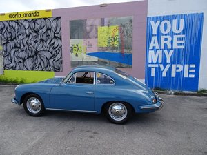 1961 Porsche 356 B T-5 Sun Roof Coupe Restorted Rare $87.5k For Sale