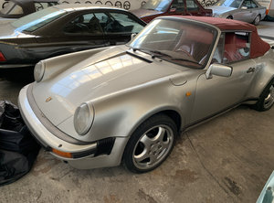 1987 911 930 Supersport Turbo body 3.6 RS engine