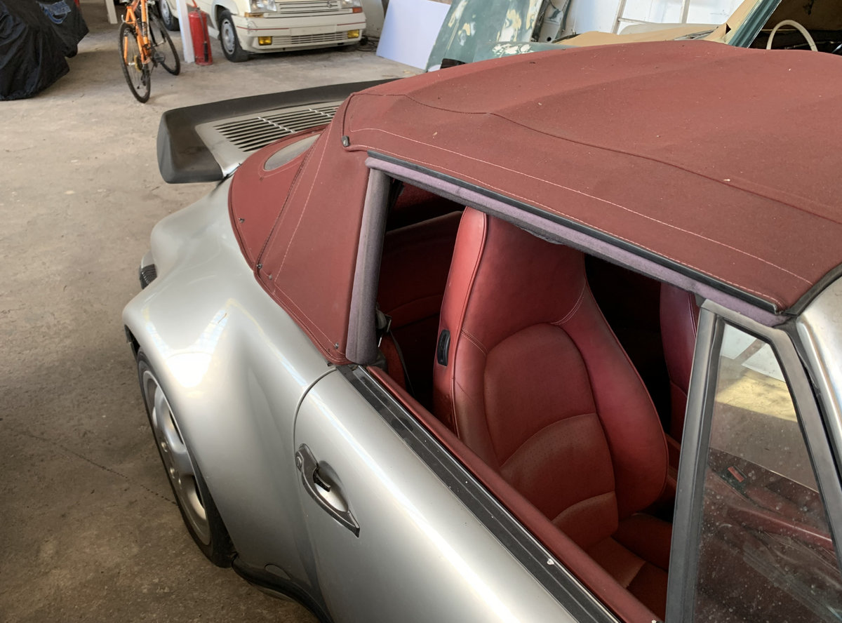 1987 911 930 Supersport Turbo body 3.6 RS engine For Sale (picture 6 of 6)