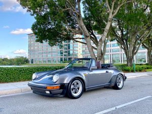 1985 Porsche 911 Turbo Look M491 WideBody Grey $69.9k