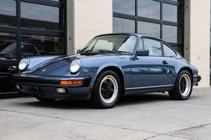 1989 Porsche 911 Carerra Coupe Blue G50 Trans  $67.5k For Sale