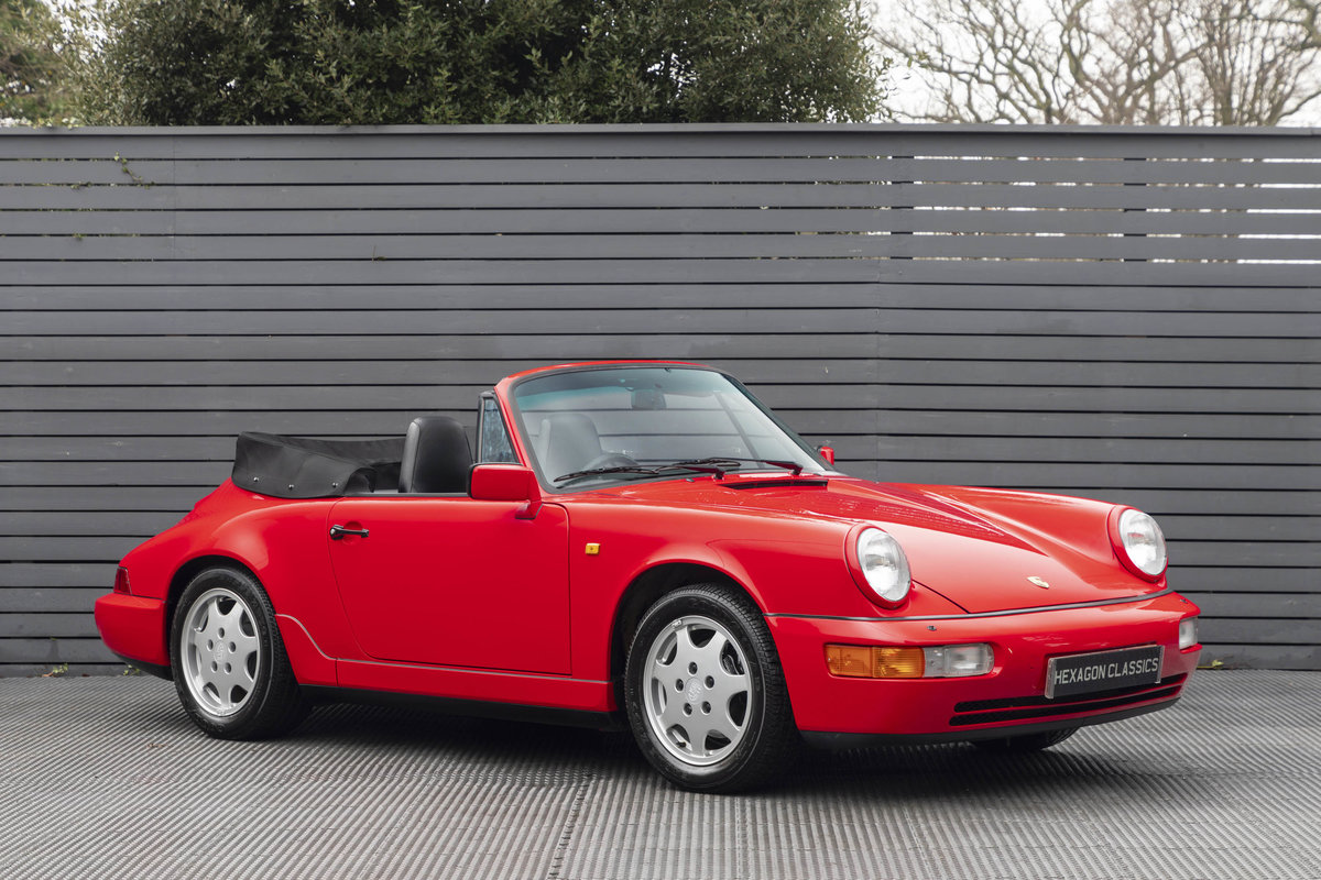 1990 Porsche 911 (964) C2 Cabriolet (ONLY 9600 MILES) For Sale (picture 1 of 15)
