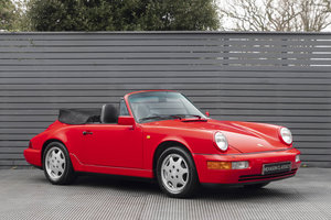 1990 Porsche 911 (964) C2 Cabriolet (ONLY 9600 MILES) For Sale