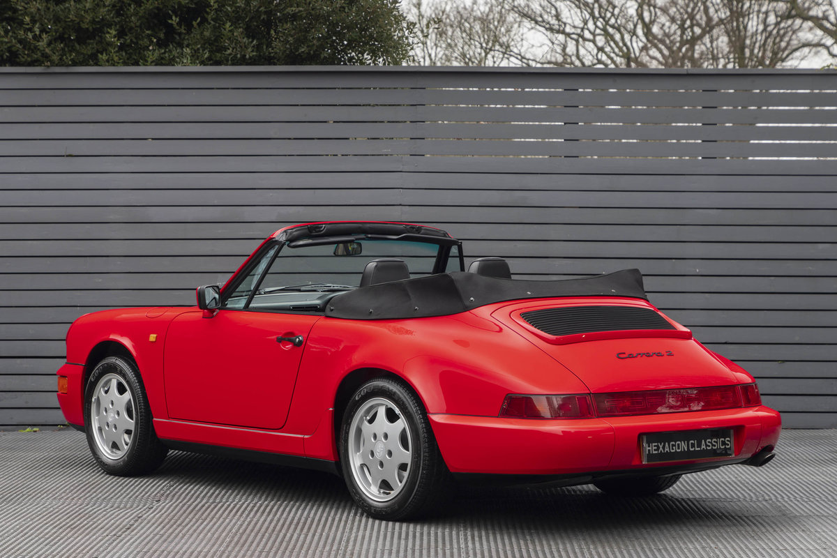 1990 Porsche 911 (964) C2 Cabriolet (ONLY 9600 MILES) For Sale (picture 2 of 15)